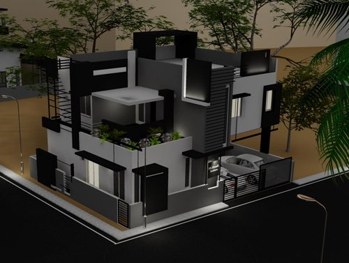 Architectsb 39 s articles tagged house plans in india for Plan of bungalow in india